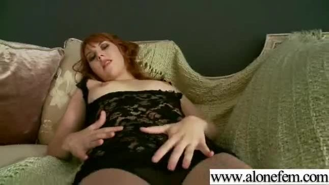 Hot singe girl having fun with sex dildos and toys clip-08