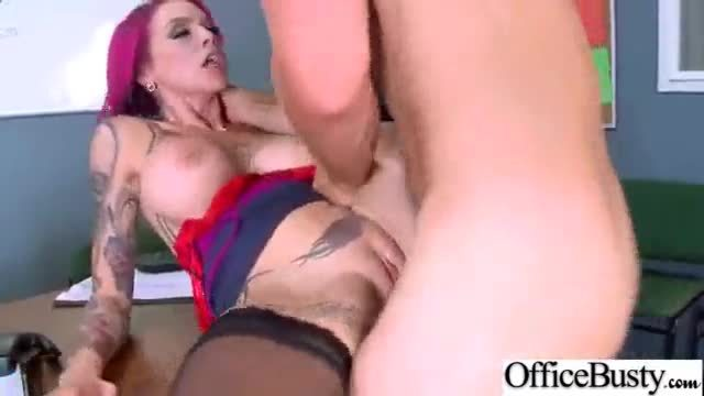 Hardcore sex tape in office with big melon tits girl (anna bell peaks) video-08