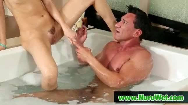 Oil massage with a happy ending 22